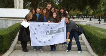 AEGEE-Thessaloniki members