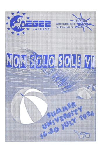 1994 Salerno SU Booklet VI