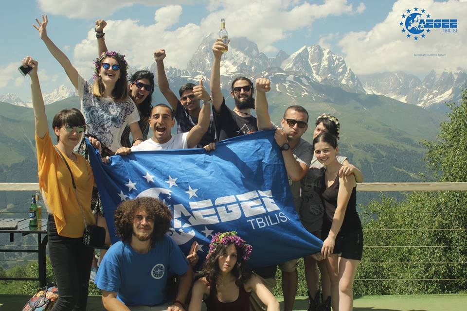 AEGEE-Tbilisi's Summer University in 2017.