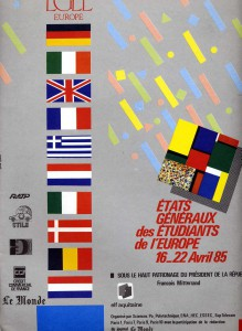 The cover of the EGEE I event booklet
