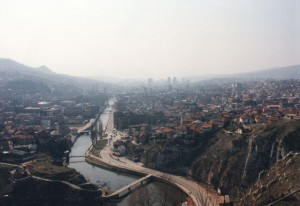 Sarajevo, the besieged city.
