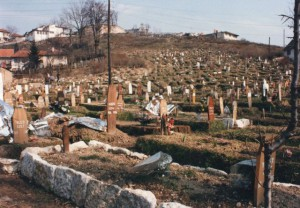 In Sarajevo, cemetaries where everywhere. Even in the Olympic stadium.