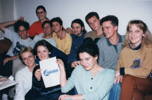 The founding meeting of AEGEE-Tuzla