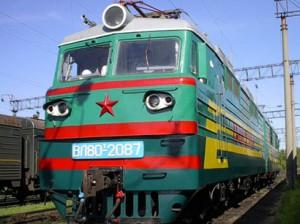 Train Azerbaijan