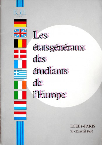 1985 EGEE I Poster