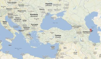 AEGEE-Baki map