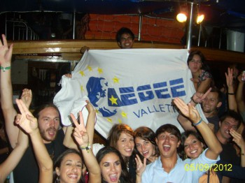 AEGEE-Valletta party