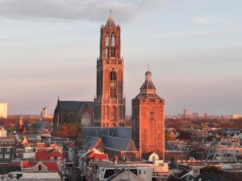 Utrecht Buurkerk_en_Domtoren