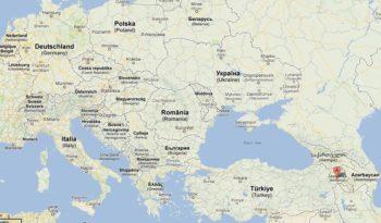 AEGEE-Yerevan map