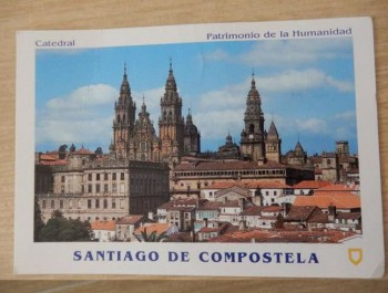 Postcard Santiago