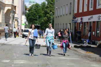 AEGEE-Passau flood