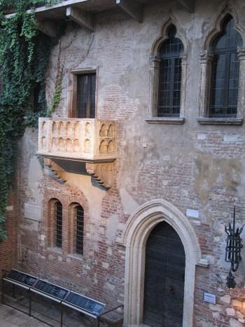 Verona balcony