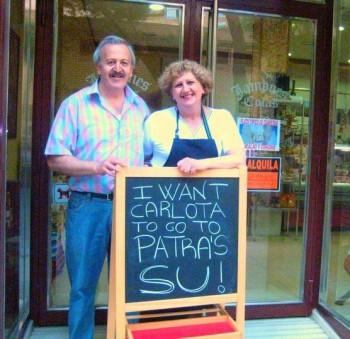 Carlotas parents