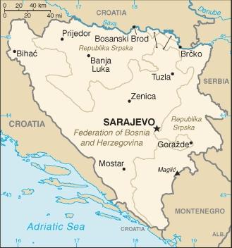 Tuzla Map