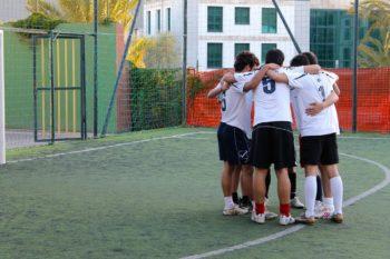 AEGEE-Cagliari football team