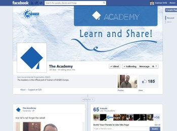 Academy Facebook page