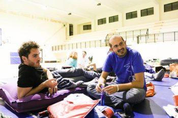 Mattia in Foggia gym