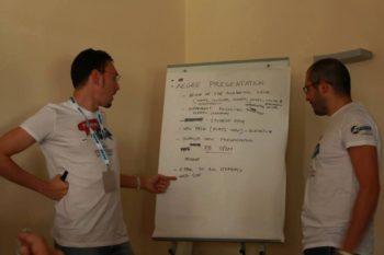 Mattia in Foggia presentation