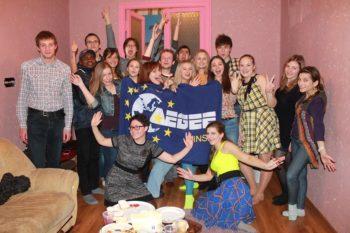 AEGEE-Minsk new year 2014