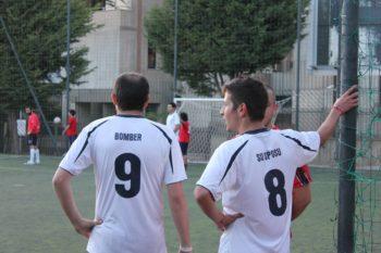 Football Mattia Abis and Enrico Cadeddu