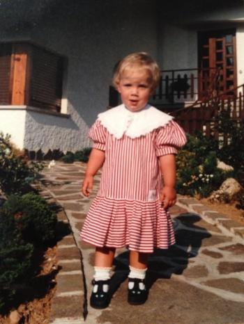 Lisa Gregis bambina