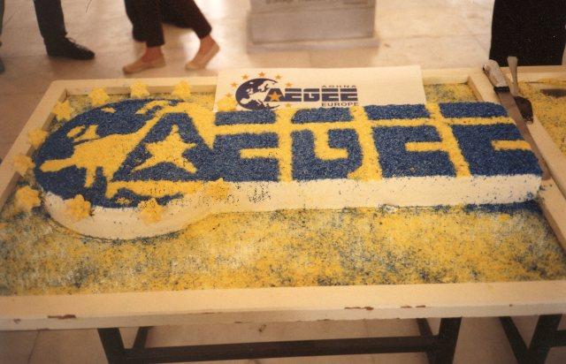 1992 Agora Kos cake