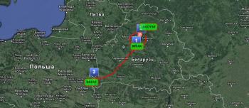 Belarus route