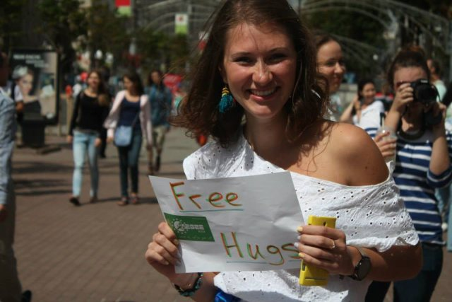 Kyiv hugs
