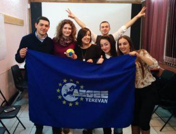 AEGEE-Yerevan board