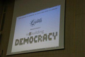 Kyiv rebuilding democracy