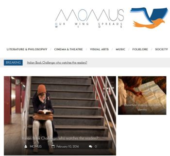 Momus cover