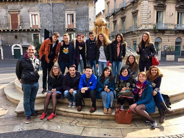 SUPS Catania team