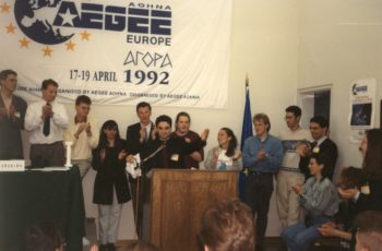 1992 Agora Kos clapping small