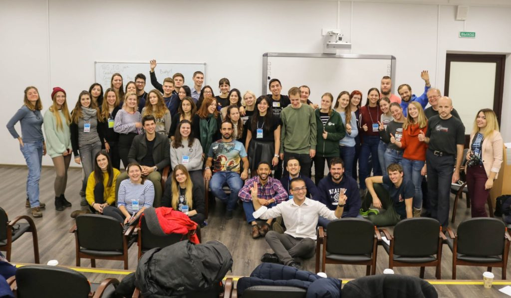 In autumn 2017, AEGEE-Sankt-Peterburg successfully organised a great Network Meeting.